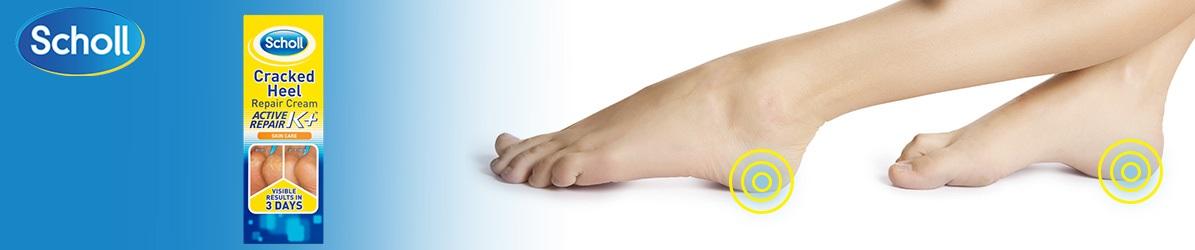 ... keratínom 60 ml. Krém na nohy Scholl jedinečným spôsobom ošetrí vaše  popraskané päty. Unikátna technológia obsahuje keratín c942d6a872