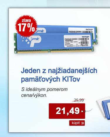 Patriot 4GB KIT DDR3 1333MHz