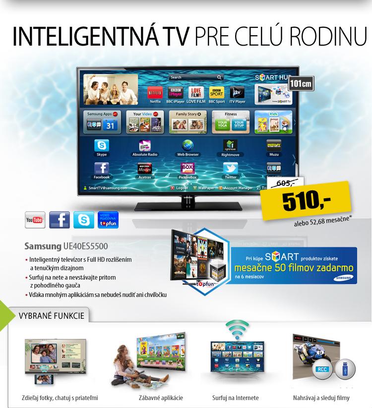99a9d61c9 Smart TV za najlepšie ceny do vypredania. Upgradujte telku teraz!
