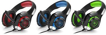 5491ff30d CONNECT IT CHP-4510-RD Gaming Headset BIOHAZARD - Herné slúchadlá ...