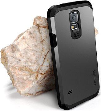 Ochranný kryt Spigen Tough Armor Gunmetal Samsung Galaxy S5 7 7 a0580fa5ec6