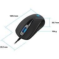 Eternico Wired Mouse MD150 čierna - Myš