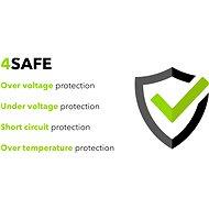 AlzaPower Smart Charger 2.1A černá - Nabíjačka do siete