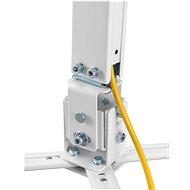 AlzaErgo Projector Mount C05W biely - Stropný držiak