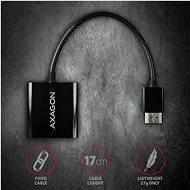 AXAGON RVH-VGN prevodník HDMI – VGA - Redukcia