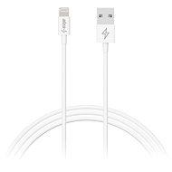 AlzaPower Core Lightning MFi (C89) 0.5 m biely - Dátový kábel