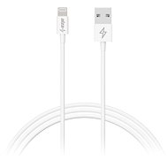 AlzaPower Core Lightning MFi (89) 1 m biely - Dátový kábel