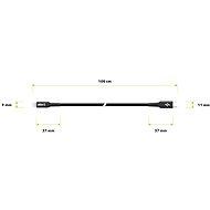 AlzaPower AluCore USB-C to Lightning MFi 1 m Black - Dátový kábel