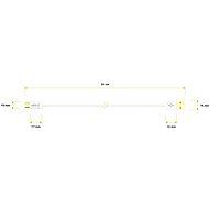 AlzaPower Core Micro USB 0,5 m biely - Dátový kábel