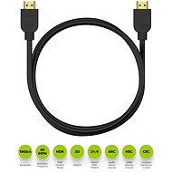 AlzaPower Premium HDMI 2.0 High Speed 4K 1,5 m - Video kábel