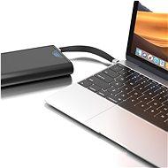 AlzaPower FlexCore USB-C to USB-C 3.2 Gen 2, 5 A, 100 W čierny - Dátový kábel
