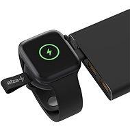 AlzaPower Wireless Watch charger 120 USB-C čierna - Bezdrôtová nabíjačka