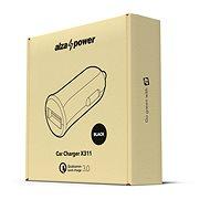 AlzaPower Car Charger X311 Quick Charge 3.0 čierna - Nabíjačka do auta