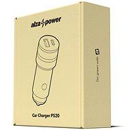 AlzaPower Car Charger P520 Power Delivery čierna - Nabíjačka do auta
