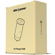 AlzaPower Car Charger C520 Fast Charge + Power Delivery čierna - Nabíjačka do auta