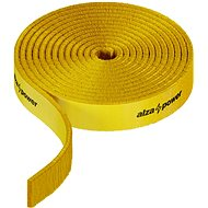 AlzaPower VelcroStrap+ Roll 4× 1 m mix - Organizér káblov