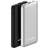 AlzaPower Thunder 10 000 mAh Fast Charge + PD3.0 čierna - Powerbank