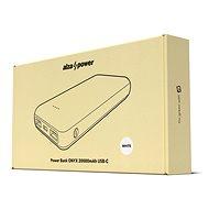 AlzaPower Onyx 20 000 mAh USB-C biela - Powerbank