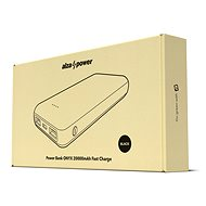 AlzaPower Onyx 20 000 mAh Fast Charge + PD3.0 čierna - Powerbank