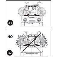 PERUZZO PURE INSTINCT REAR 3 - Nosič bicyklov na zadné dvere