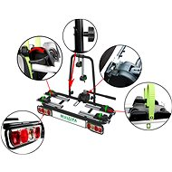 MULTIPA Nosič elektrobicyklov na tažné zariadenie 2 elektrobicykle - Nosič bicyklov na ťažné zariadenie