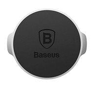 Baseus Small Ears Series Magnetic Vertical Bracket strieborný - Držiak na mobil