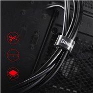 Baseus Rainbow Circle Velcro Straps 3 m Red - Organizér káblov
