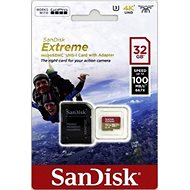 SanDisk micro SDHC 32 GB Extreme A1 UHS-I (V30) + SD adaptér - Pamäťová karta