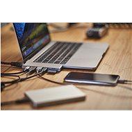 Epico USB Type-C HUB PRO – space grey/black - Replikátor portov
