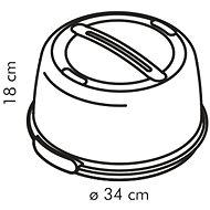 Tescoma Chladiaci podnos s poklopom DELÍCIA, 34cm - Podnos