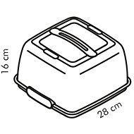 Tescoma Chladiaci podnos s poklopom DELÍCIA, 28 × 28 cm - Podnos