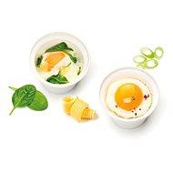 TESCOMA Miska na varené vajcia PURITY Microwave, 2 ks - Riad do mikrovlnky