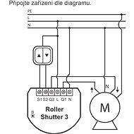 FIBARO žalúziový modul 3 - Diaľkové ovládanie