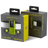 Energy Sistem MP3 Clip Bluetooth Sport 16 GB Greenstone - MP3 prehrávač
