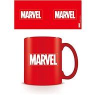 Marvel Logo červené – hrnček - Hrnček