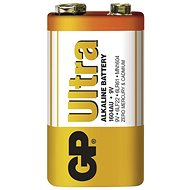 GP Ultra Alkaline 9V 1 ks v blistri - Jednorázová batéria