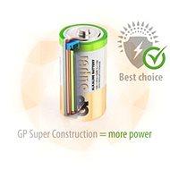 GP Super Alkaline LR14 (C) 2 ks v blistri - Jednorázová batéria