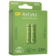 Nabíjacia batéria GP ReCyko 1000 AAA (HR03), 2 ks - Nabíjateľná batéria