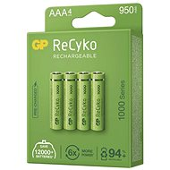 Nabíjacia batéria GP ReCyko 1000 AAA (HR03), 4 ks - Nabíjateľná batéria