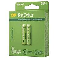 Nabíjacia batéria GP ReCyko Cordless AAA (HR03),2 ks - Nabíjateľná batéria