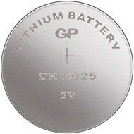 GP CR2025 lithiová 5ks v blistru - Gombíkové batérie