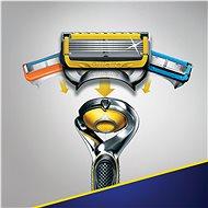 GILLETTE Fusion Proshield + hlavica 4 ks - Holiaci strojček
