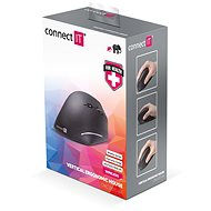 CONNECT IT CMO-2510-BK Vertical Ergonomic, wireless - Myš