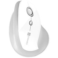 CONNECT IT Vertical Ergonomic Wireless biela - Myš