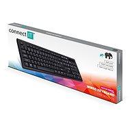 CONNECT IT CKB-3058-CS čierna - Klávesnica