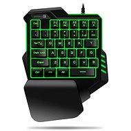 CONNECT IT BATTLE RNBW Single Hand - Herná klávesnica