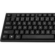 CONNECT IT CKM-7500-SK CZ/SK Black - Set klávesnice a myši