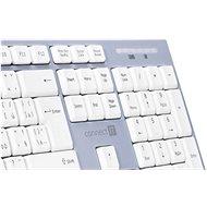 CONNECT IT CKM-7510-CS CZ/SK White - Set klávesnice a myši
