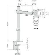 CONNECT IT SingleArm Basic - Držiak na monitor