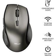 TRUST Kuza Wireless Mouse - Myš